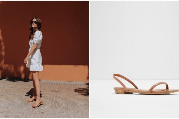 Ravne sandale dovoljno lijepe i za posao i izlaske