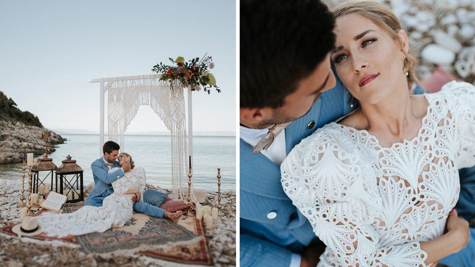Najljepše boemsko vjenčanje u idiličnoj istarskoj uvali