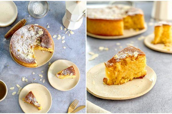 Bake me by Nina: Torta od badema i maslinovog ulja koja podsjeća na ljeto i Dalmaciju