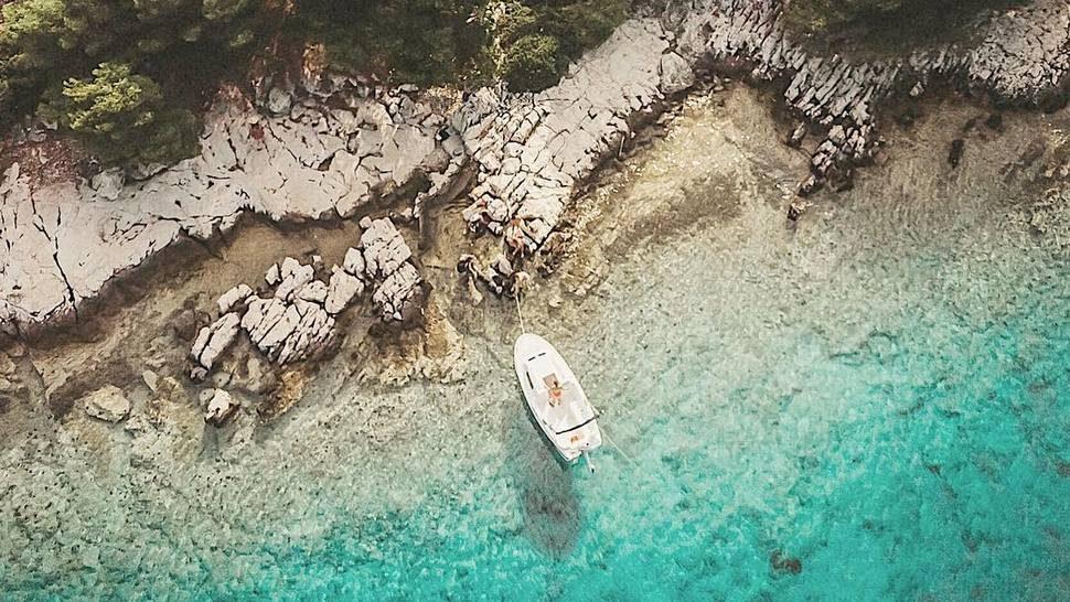 Ovaj otočić u šibenskom arhipelagu pravi je komadić raja na zemlji