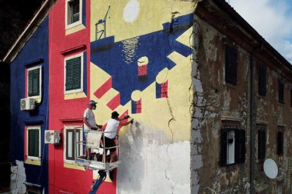 Rijeka je dobila nove murale najboljih street art umjetnika