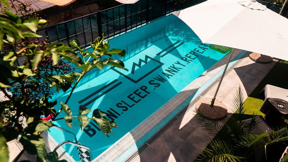 Cool bazen omiljenog Swanky Mint Hostela od ovog je ljeta dostupan i za nas