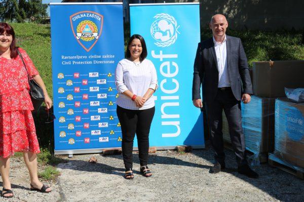 UNICEF dostavio 10 oksigenatora kao dio odgovora na pandemiju koronavirusa u Hrvatskoj