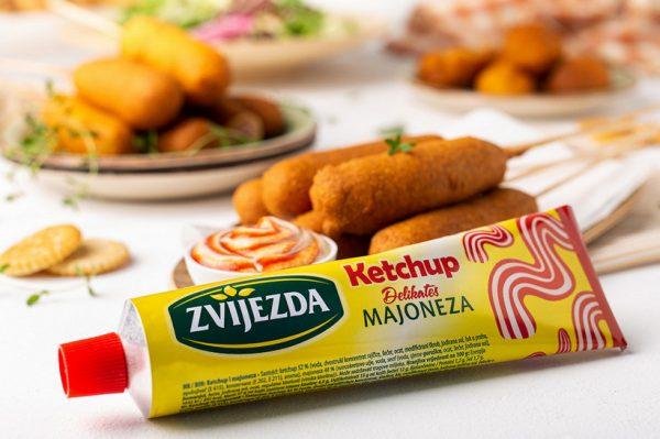 Zvijezda ketchup majoneza – neodoljiva kombinacija koja dolazi u istoj tubi