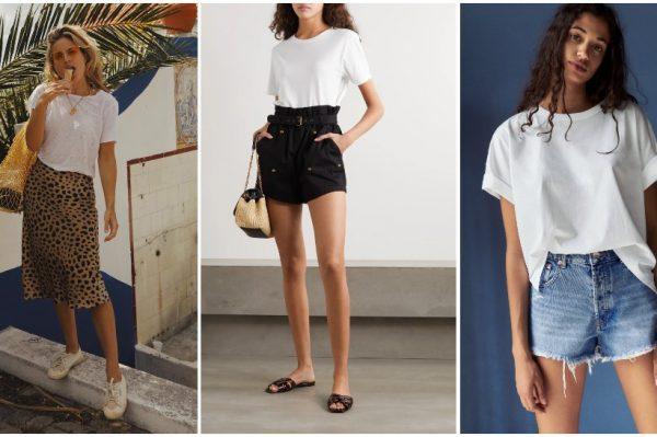Omiljeni bijeli T-shirt u 20 najboljih modela i 10 kombinacija koje ćemo nositi ovog ljeta