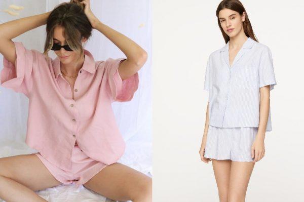 Kratke ljetne pidžame u kojima ćemo provesti cijeli vikend