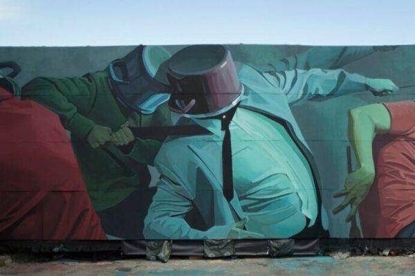 Lonac ponovo briljira: Pogledajte mural simboličnog naziva Polupani lončići
