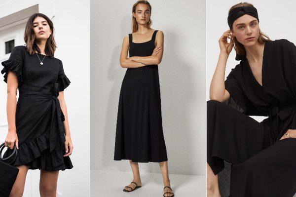 Mala crna haljina u 50 ljetnih modela koje ćemo nositi od jutra do večeri
