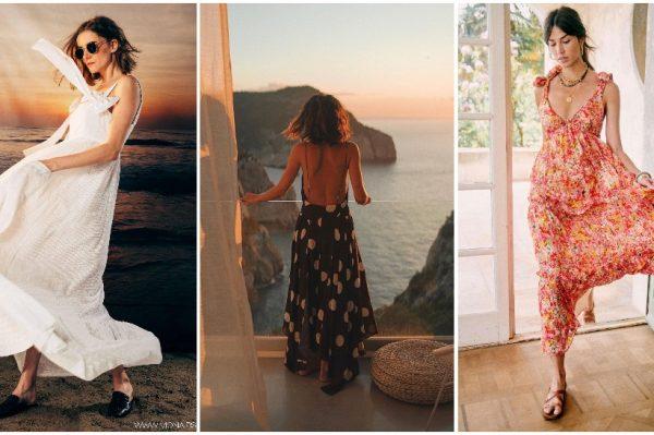 Maxi haljine uz koje će vam biti dovoljno minimalno vremena za savršeni ljetni look