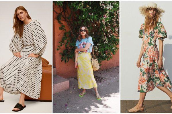 Midi dužine i s raskošnim uzorcima – suknja koju obožavamo nositi u 38 ljetnih modela