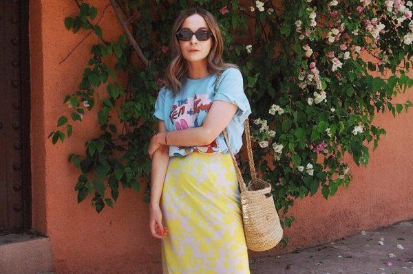 Midi suknje s raskošnim uzorcima u 38 ljetnih modela