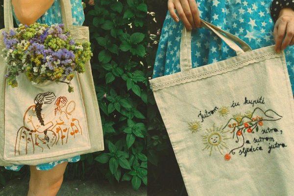 Obožavamo ove eko i etno friendly ručno rađene torbe konac&JAnica