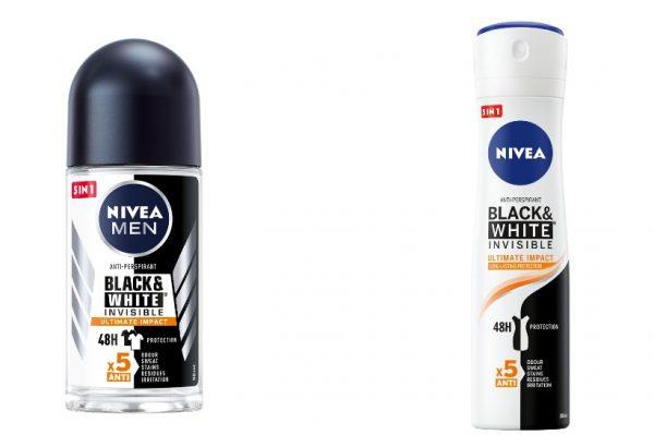 Ultimativna 5-u-1 zaštita novih NIVEA dezodoransa štiti vas i vašu odjeću u svim stresnim situacijama