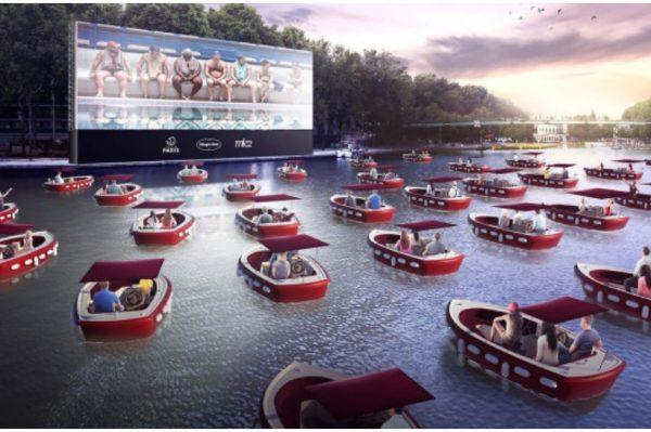 Ovo priželjkujemo i mi! Kino na rijeci Seini u Parizu novi je apsolutni hit