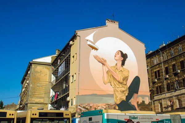 Rijeka murala 2020.: Grad je dobio još dva predivna murala