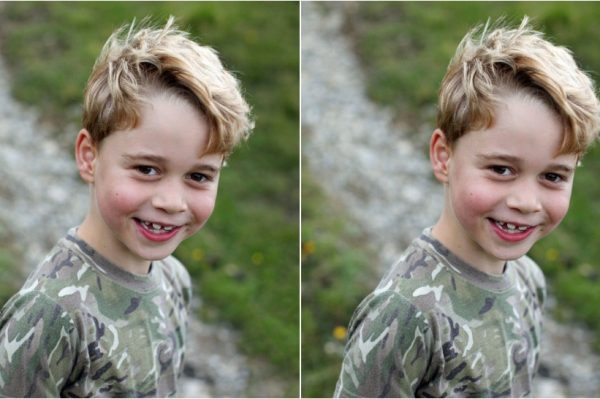 Fotografije snimljene za njegov 7. rođendan pokazuju koliko je princ George već velik dječak