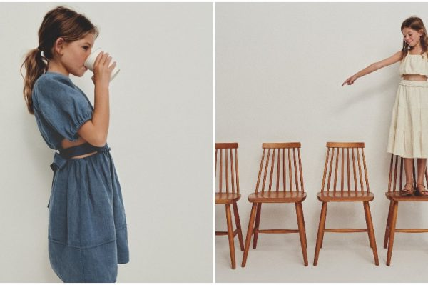 Laneni komadi iz najnovije Zara kolekcije oduševit će vas i vaše djevojčice