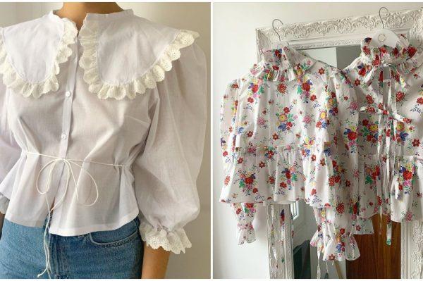 Romantične bluze i haljine koje su osvojile Instagram
