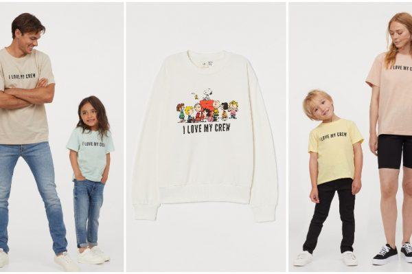 Nova H&M kolekcija donosi cool majice za cijelu obitelj