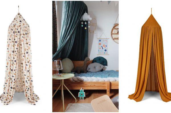 Baldahin iznad kreveta ili prostora za igru – detalj koji ne izlazi iz mode