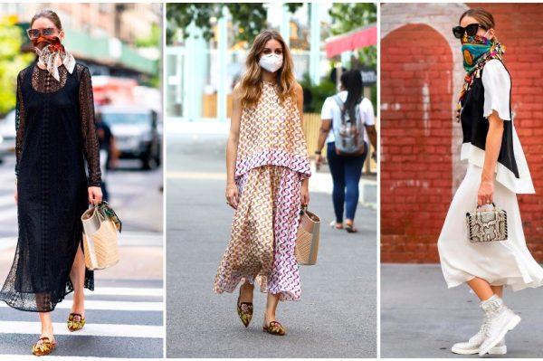 Olivia Palermo je kraljica kombinacija sa zaštitnom maskom za lice