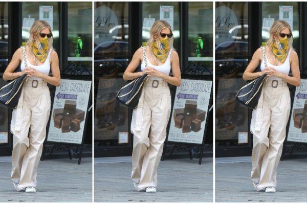 Street style inspiracija: Sienna Miller u savršenim ljetnim hlačama s Mango potpisom