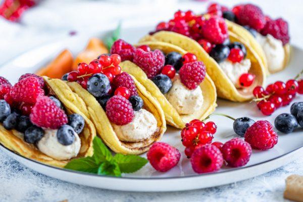 Od slatkoga slađe: Tacos palačinke s voćem su pravo ljetno osvježenje