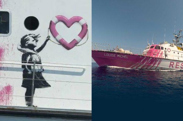 Pogledajte kako izgleda brod za spašavanje izbjeglica kojeg je kupio i uredio Banksy