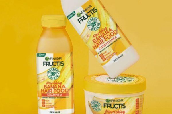 Nova Fructis Hair Food linija za njegu kose iz Garniera