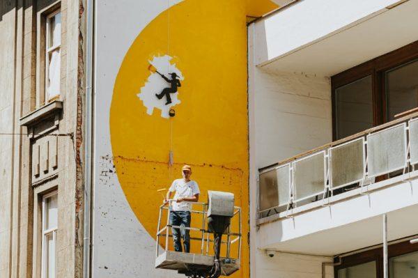 Pogledajte novi prekrasan mural na pročelju zgrade u Martićevoj ulici