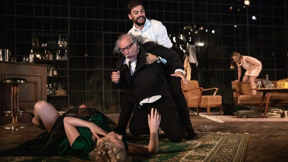 """Danas i sutra u parku Gradac igra hit predstava Kazališta Ulysses """"Tko se boji Virginije Woolf?"""""""