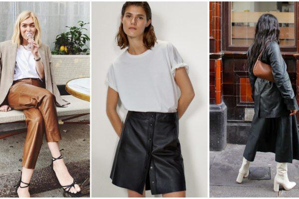 Odjevni komadi od kože jedan su od najvećih modnih trendova za novu sezonu