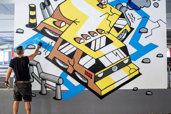 Projekt 'City Street Art' pretvorio je Split u malu pozornicu na otvorenom uz šarene boje, grafite i murale