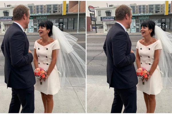 Lily Allen i David Harbour imali su najslađu svadbu u Las Vegasu