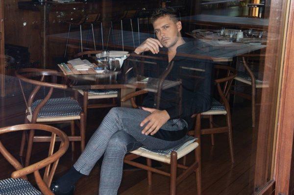 Journal Man: Srpski glumac Miloš Biković u novoj modnoj ulozi