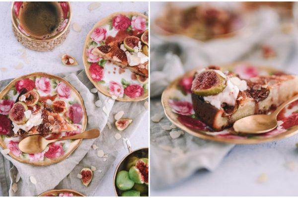 YumYum Paradise: Torta sa smokvama i preljevom od crnog vina