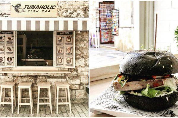 Tunaholic je riblji street food bar u kojem možete pojesti burgere od tune, srdele i morskog psa
