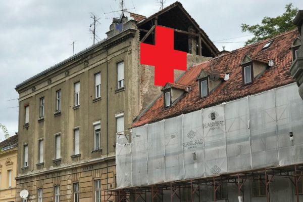 """Projekt Ilica: Q'Art: """"Postavljanje crvenih križeva na Ilici"""" umjetnička je instalacija Aleksandra Battiste Ilića"""
