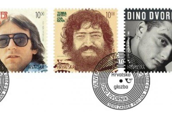 Glazbene legende na novim poštanskim markama