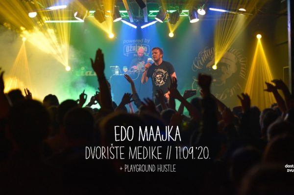 Čeka nas super koncert za kraj tjedna: Edo Maajka u dvorištu Medike