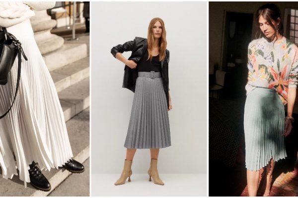 Plisirana suknja je ženstveni modni favorit koji ćemo obožavati nositi i ove jeseni