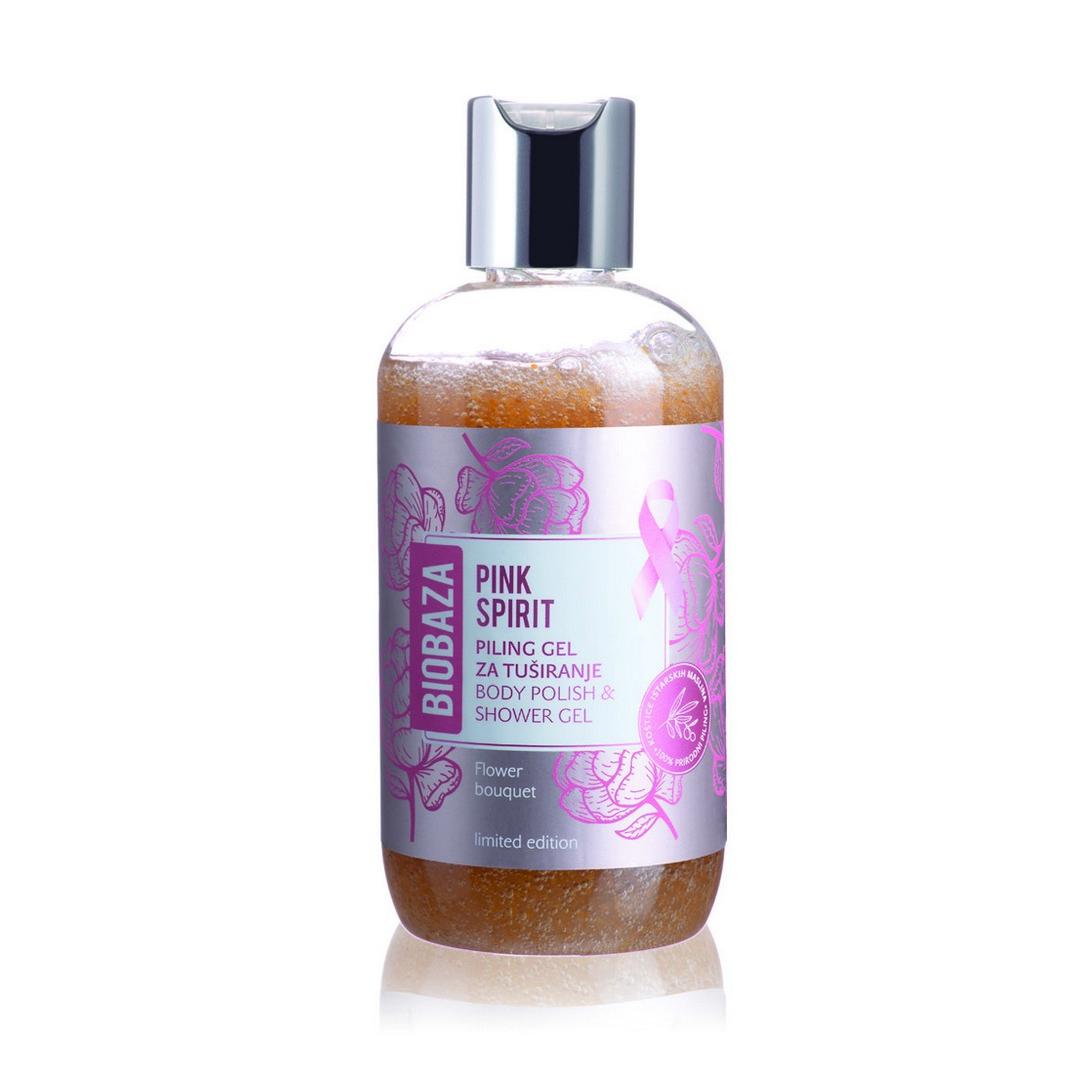 Biobaza Pink Spirit gel za tuširanje