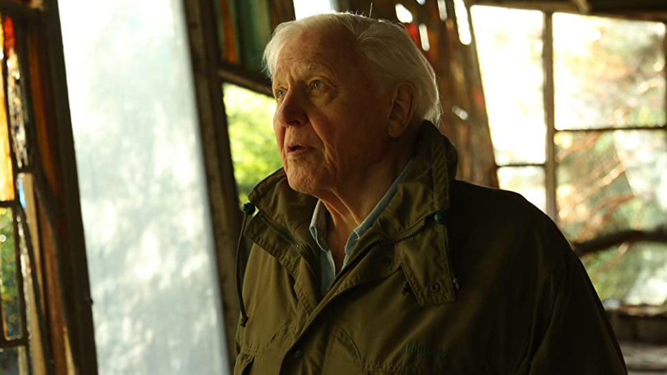 David Attenborough cover
