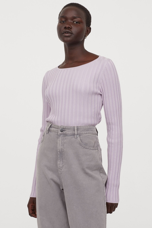 H&M pulover s otvorenim leđima jesen 2020.ver s otvorenim leđima jesen 2020. 3