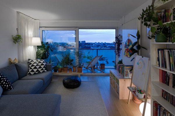 Kako je preuređen jedan stan s pogledima na Sljeme i trešnjevačke krovove