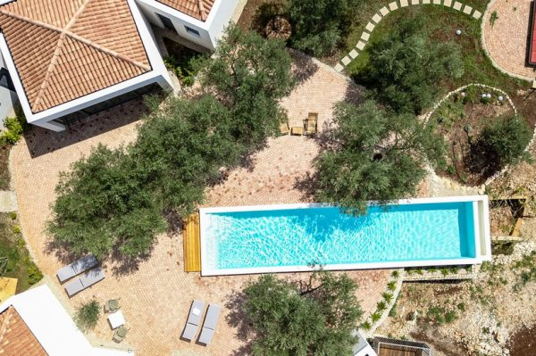 Kuća za odmor smještena usred maslinika s bazenom koji ostavlja bez daha
