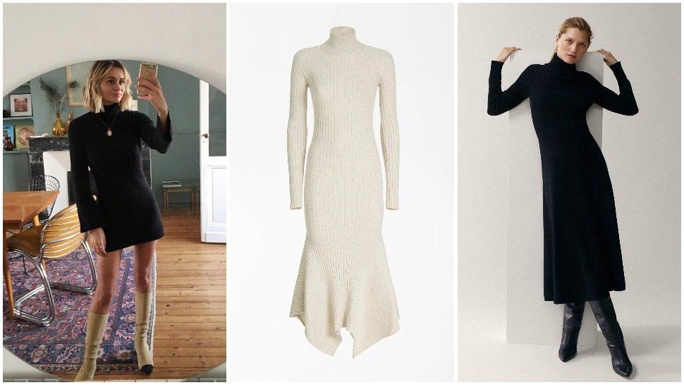 7 savršenih: topla, ugodna i ženstvena dolčevita haljina