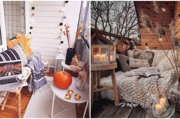Trend mjeseca u uređenju interijera: Uredite jesensku oazu na svom balkonu