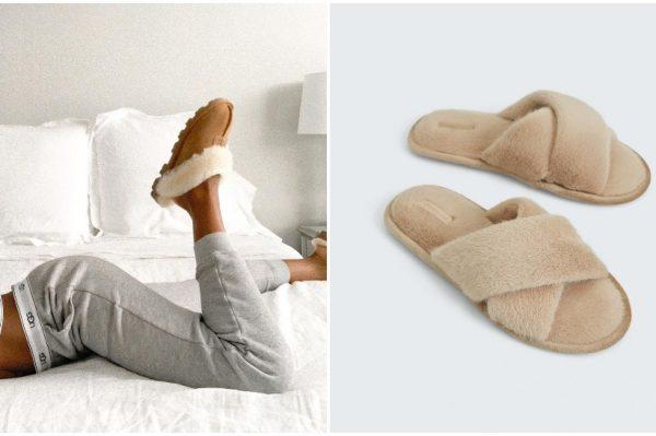 Čupave kućne papuče su stvorene za zimske dane
