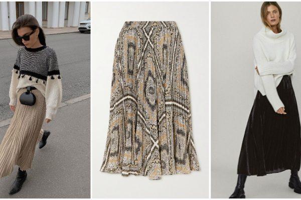 7 savršenih: plisirana suknja u zimskom izdanju